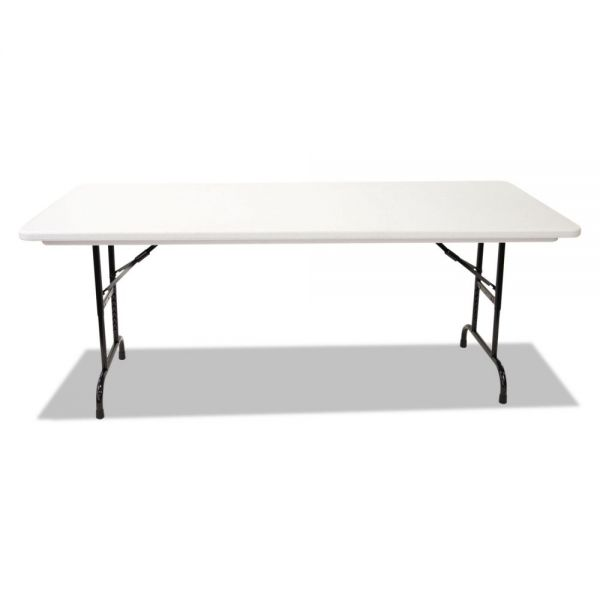 Alera Height-Adjustable Rectangular Folding Table