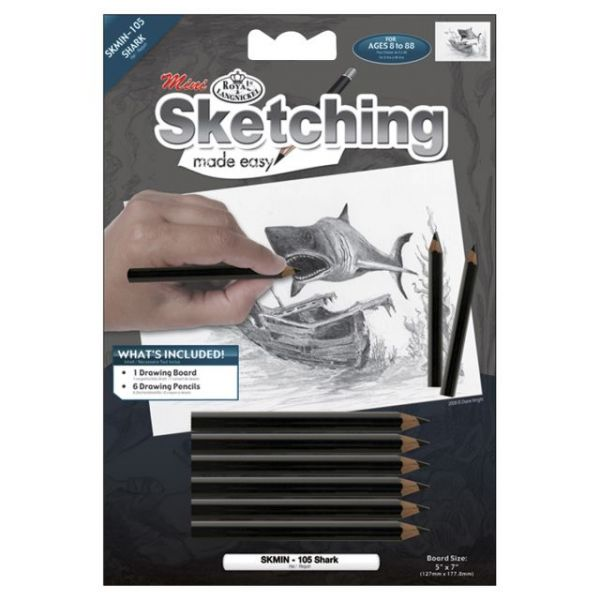 "Sketching Made Easy Mini Kit 5""X7"""