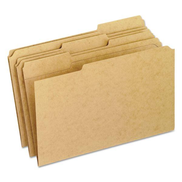Pendaflex Brown Colored File Folders