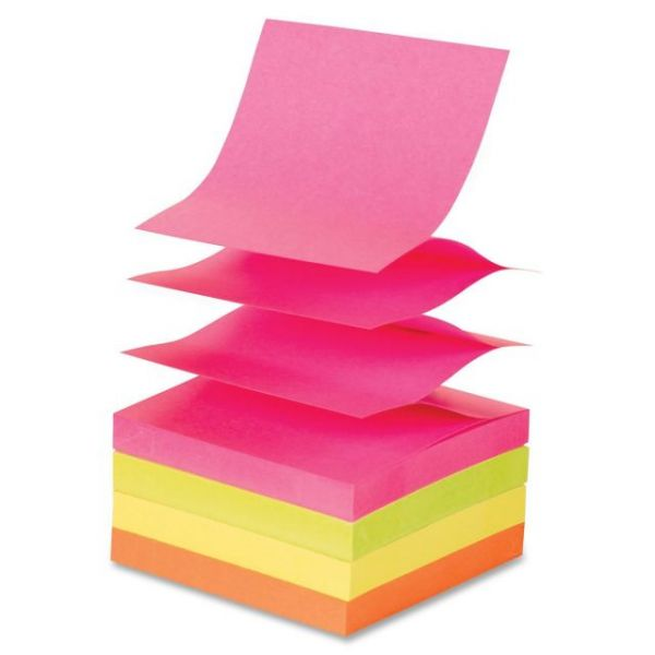 Sparco Pop-Up Adhesive Note Pads
