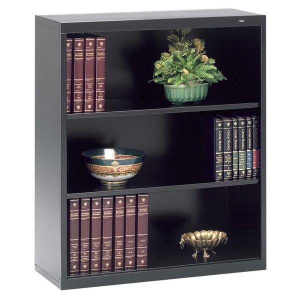 Tennsco Deep 3-Shelf Welded Steel Bookcase