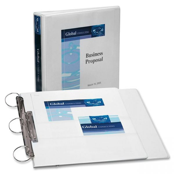 "Avery Flip Back 360 Reference 1-1/2"" 3-Ring View Binder"