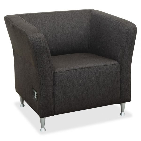 Lorell Fuze Lounger Chair