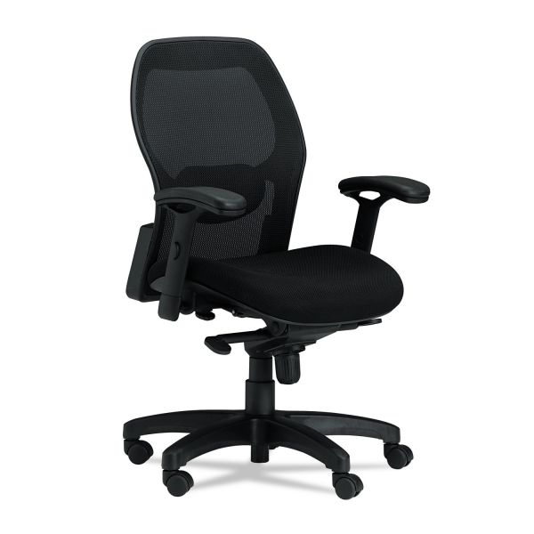 Mayline Mercado Series Mid-Back Mesh Office Chair
