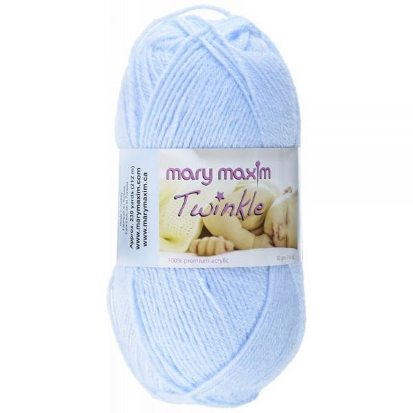Mary Maxim Twinkle Yarn - Blue