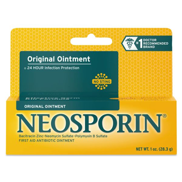 Neosporin Antibiotic Ointment, 1oz Tube