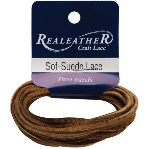 "Sof-Suede Lace .094""X2yd Packaged"