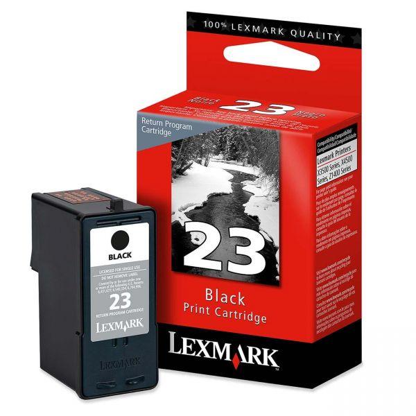 Lexmark #23 Black Return Program Ink Cartridge