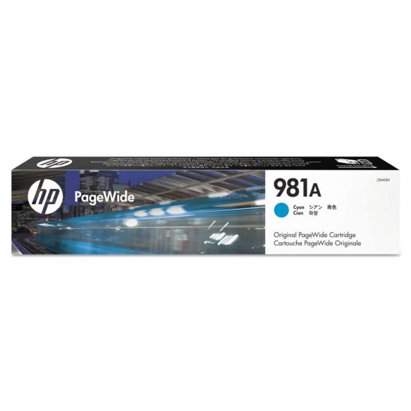 HP 981A Cyan Ink Cartridge (J3M68A)
