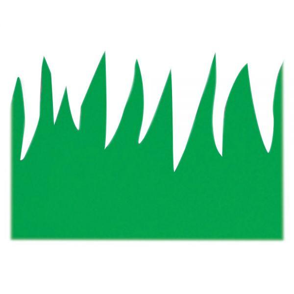 Hygloss Green Grass Border