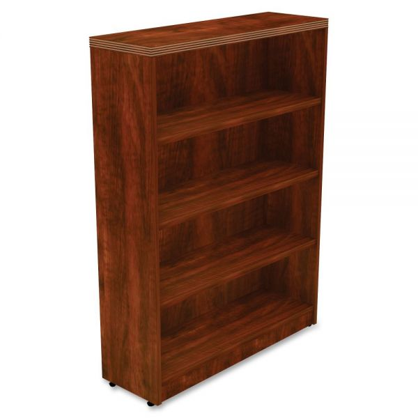 Lorell Chateau 4-Shelf Bookcase