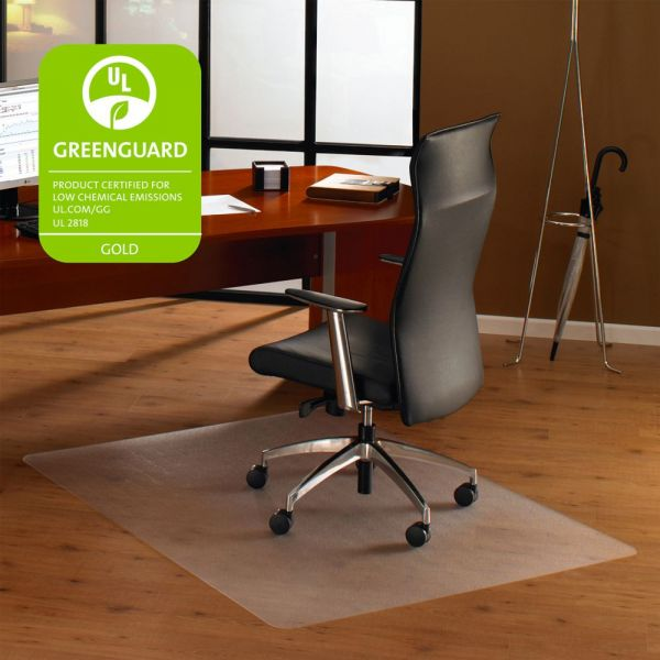 Cleartex Rectangular Hard Floor Chair Mat