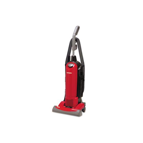 Sanitaire HEPA Filtration Upright Vacuum, 23 lb., 4.5 qt, Red