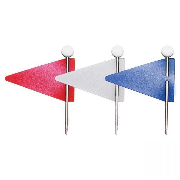 Gem Office Products Triangular Map Flags