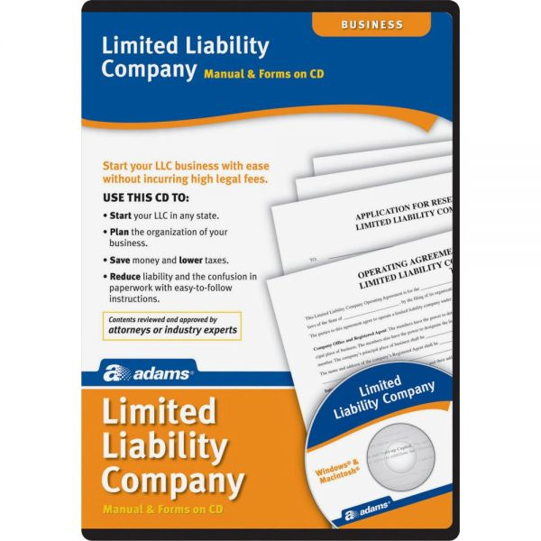 Adams Limited Liability Companies Software Set