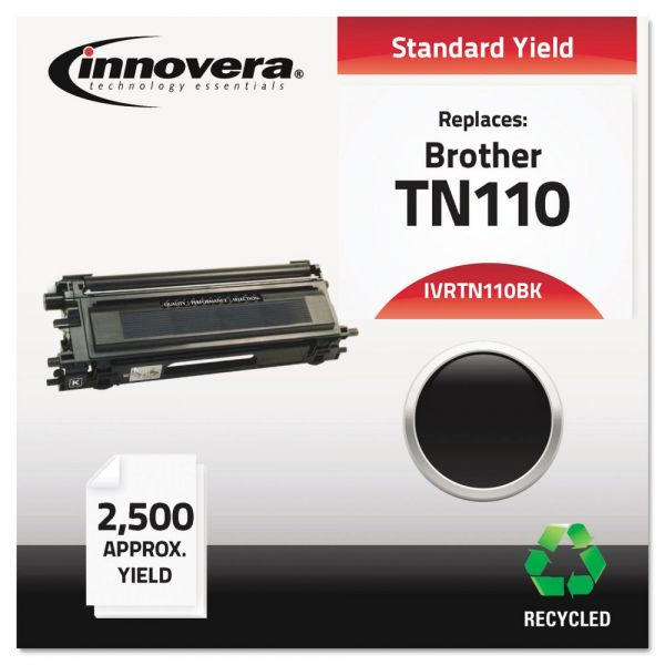 Innovera Remanufactured TN110BK Toner, Black