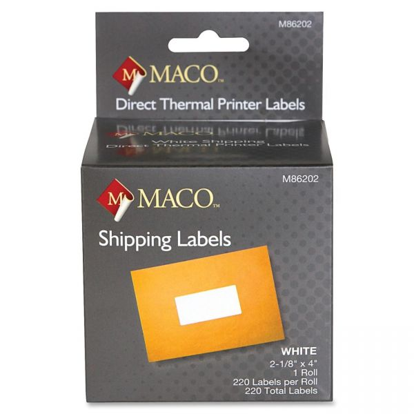 Maco Shipping Labels