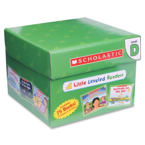 Scholastic Res. Little Level D Readers Story Printed Book