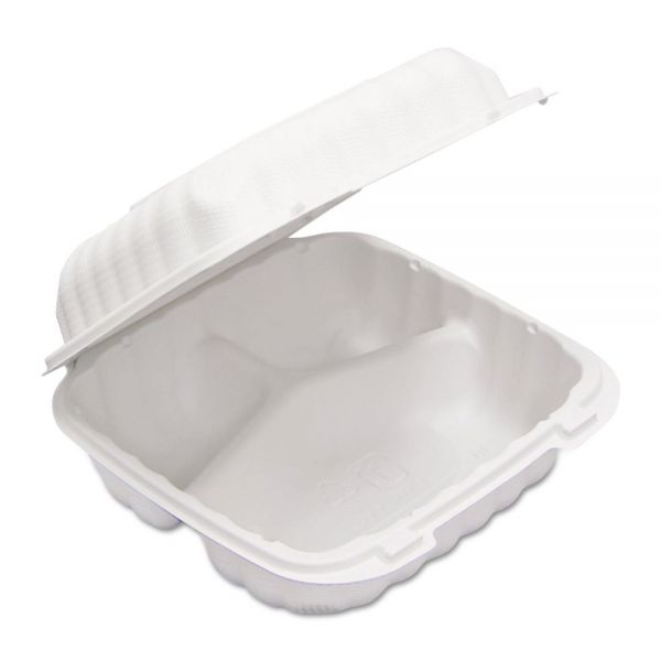 EarthChoice SmartLock Takeout Clamshell Food Containers