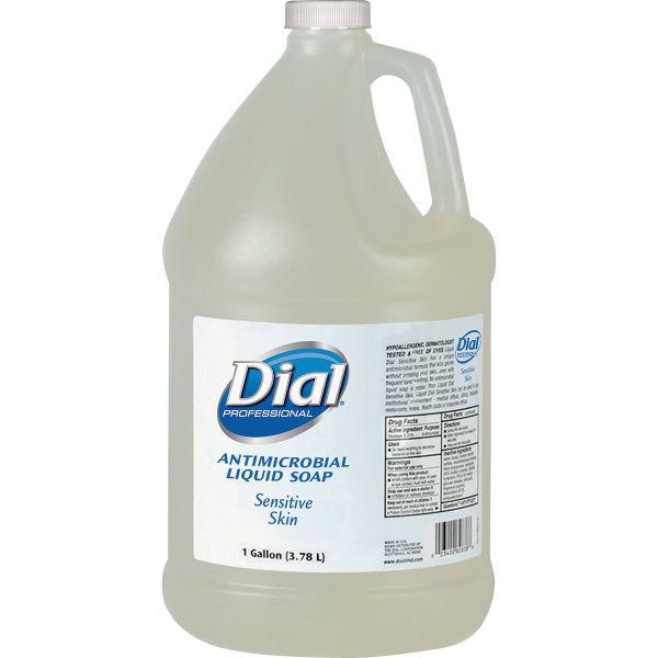 Dial Antimicrobial Liquid Hand Soap For Sensitive Skin