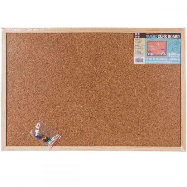 """Framed Cork Memo Board 16""""X24"""""""