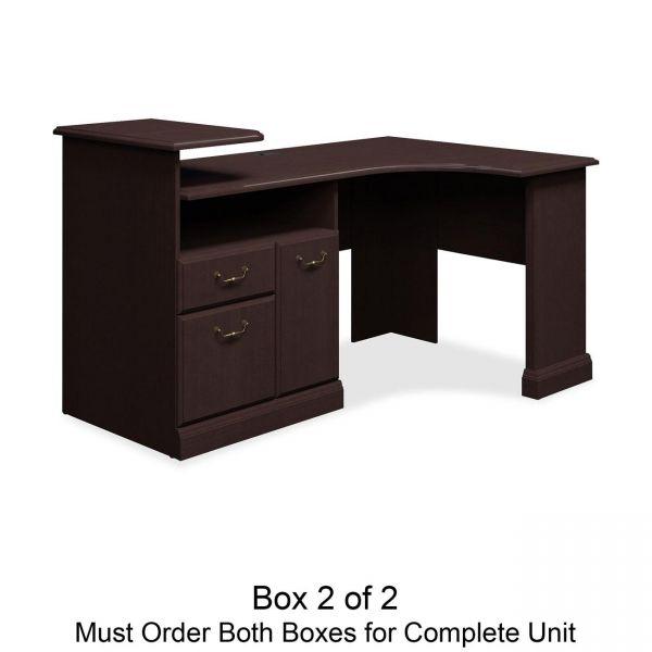 bbf Syndicate Corner Office Desk by Bush Furniture *Box 2 of 2