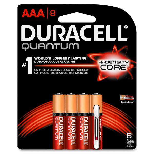 Duracell Quantum Alkaline Batteries, AAA, 8/PK