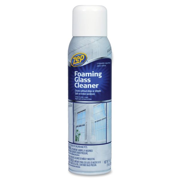 Zep Commercial Foaming Glass Cleaner