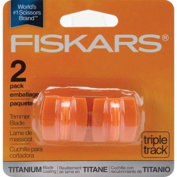 Fiskars TripleTrack High-Profile Titanium Blades 2/Pkg