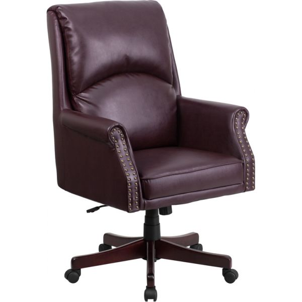 Flash Furniture Pillow Back Executive Swivel Office Chair [BT-9025H-2-BY-GG]