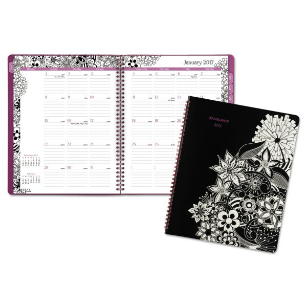 At-A-Glance FloraDoodle Monthly Planner