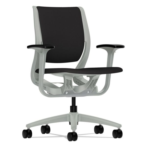 HON Purpose Series Mid-Back Task Chair with Platinum Frame