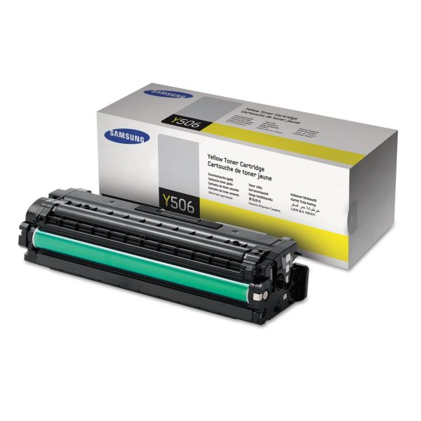 Samsung Y506 Yellow Toner Cartridge (CLTY506S)