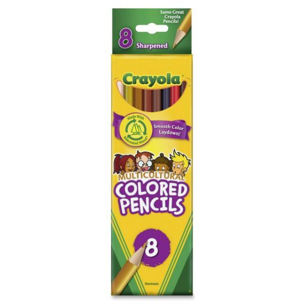 Crayola Multicultural Woodcase Colored Pencils