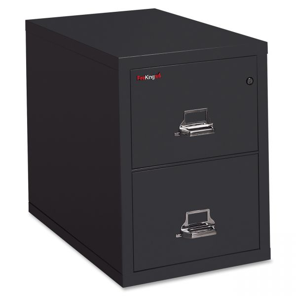 Insulated Two-Drawer Vertical File Cabinet