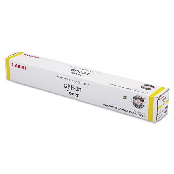 Canon GPR-31 Yellow Toner Cartridge (2802B003AA)