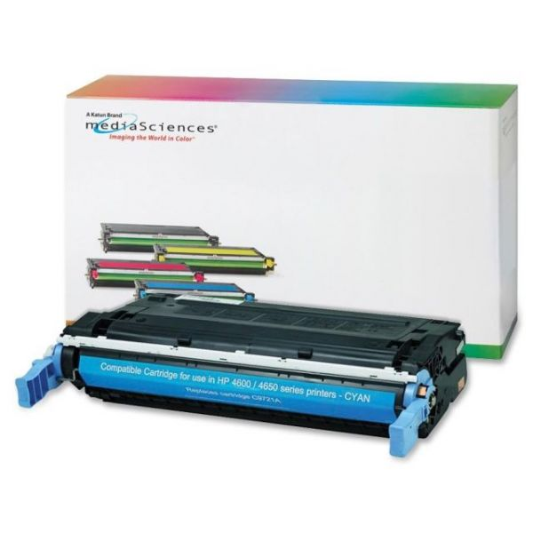 Media Sciences Remanufactured 641A Cyan Toner Cartridge