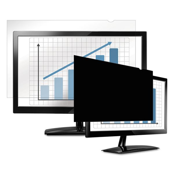 "Fellowes PrivaScreen Blackout Privacy Filter for 20.1"" Widescreen LCD, 16:10 Aspect Ratio"