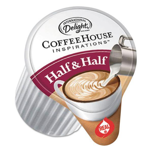 International Delight Coffee House Inspirations Half & Half, .375oz, 180/Carton
