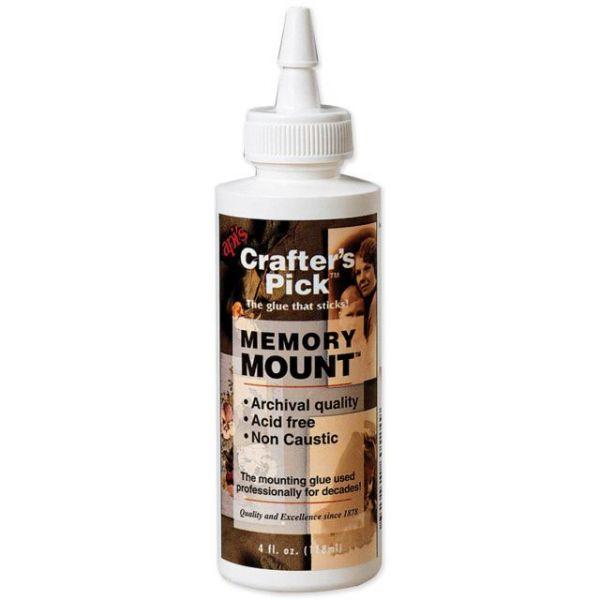 Memory Mount Glue