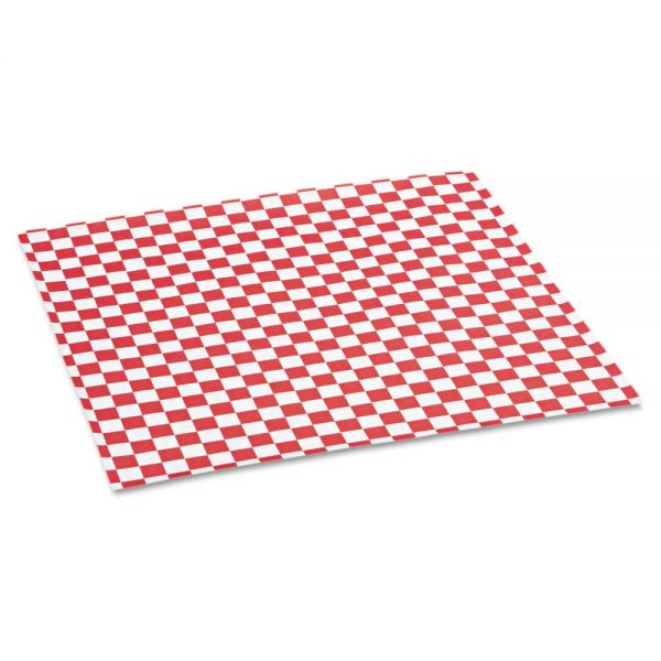 Bagcraft Papercon Grease-Resistant Basket Liner/Sandwich Wrap Paper