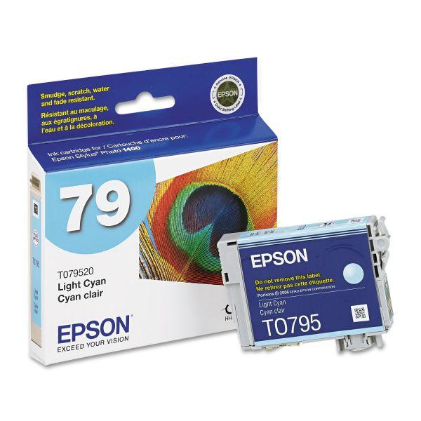 Epson 79 Light Cyan High-Capacity Ink Cartridge (T079520)