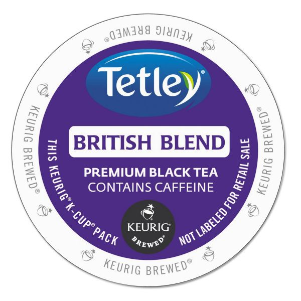 Tetley British Blend Premium Black Tea K-Cups