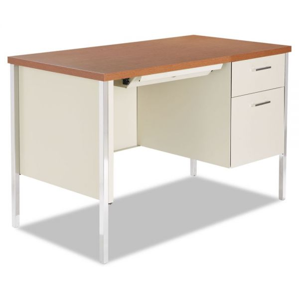 Alera Single Pedestal Computer Desk