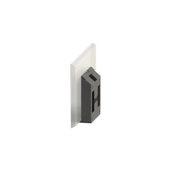 SpacePole Wall Mount for Flat Panel Display
