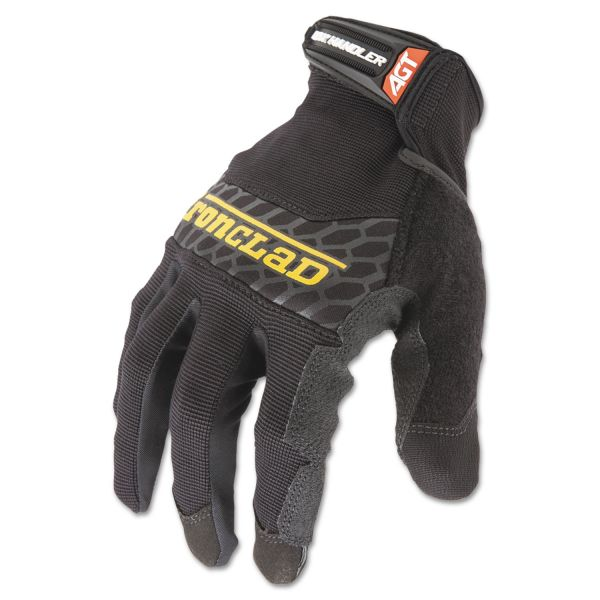 Ironclad Box Handler Gloves, Black, Medium, Pair