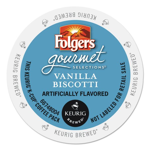 Folgers Gourmet Selections Vanilla Biscotti Coffee K-Cups