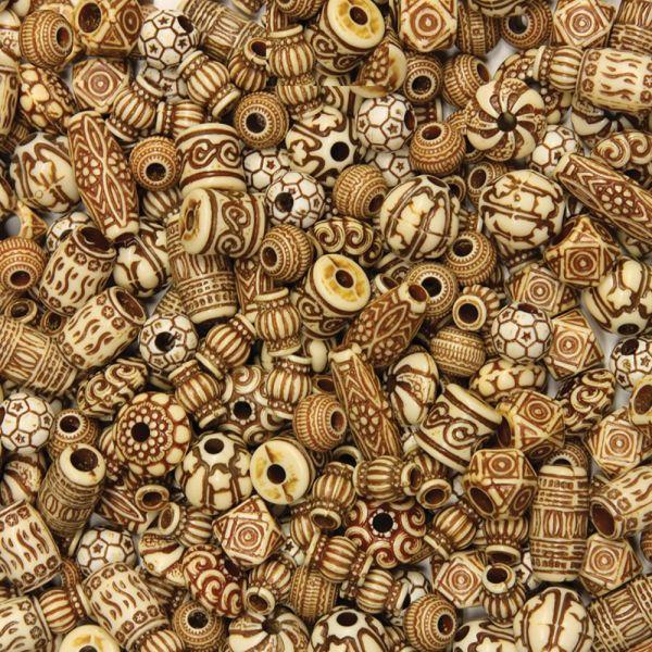 ChenilleKraft Mixed Bone Beads