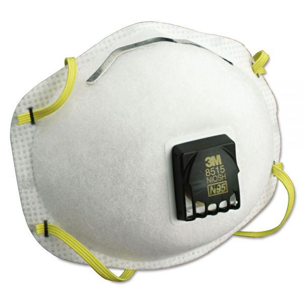 3M Particulate Welding Respirator 8515, N95, 10/Box