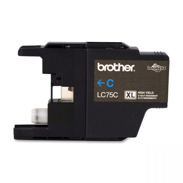 Brother LC75C Cyan High Yield Ink Cartridge